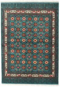 Turkaman Szőnyeg 136X187 Keleti Csomózású Sötét Turquoise/Sötétszürke (Gyapjú, Perzsia/Irán)