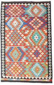 Kilim Afgán Old Style Szőnyeg 122X195 Keleti Kézi Szövésű Bézs/Sötétszürke (Gyapjú, Afganisztán)
