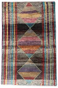 Moroccan Berber - Afghanistan Szőnyeg 113X174 Modern Csomózású Sötétszürke/Világosszürke (Gyapjú, Afganisztán)