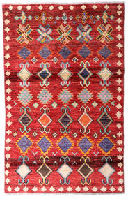 Moroccan Berber - Afghanistan Szőnyeg 108X171 Modern Csomózású Rozsdaszín/Piros (Gyapjú, Afganisztán)