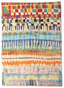 Moroccan Berber - Afghanistan Szőnyeg 127X177 Modern Csomózású Sötét Bézs/Bézs (Gyapjú, Afganisztán)