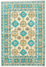 Kazak Szőnyeg 172X248 Keleti Csomózású Bézs/Sötét Bézs (Gyapjú, Afganisztán)