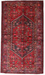 Hamadán Szőnyeg 135X228 Keleti Csomózású Sötétpiros/Piros (Gyapjú, Perzsia/Irán)