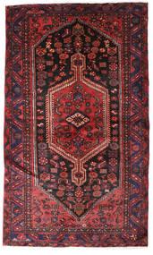 Hamadán Szőnyeg 132X224 Keleti Csomózású Sötétpiros/Sötétbarna (Gyapjú, Perzsia/Irán)
