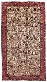 Afshar/Sirjan Szőnyeg 218X375 Keleti Csomózású Sötétpiros/Sötétbarna (Gyapjú, Perzsia/Irán)