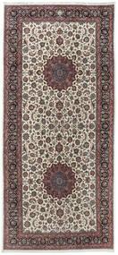 Maschad Astan Ghods Szőnyeg 254X539 Keleti Csomózású Sötétbarna/Világosszürke Nagy (Gyapjú, Perzsia/Irán)