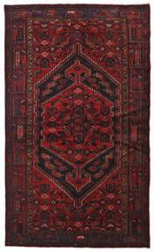 Hamadán Szőnyeg 134X226 Keleti Csomózású Sötétpiros (Gyapjú, Perzsia/Irán)