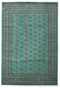 Pakisztáni Bokhara 2Ply Szőnyeg 187X276 Keleti Csomózású Türkiz Kék/Sötétszürke (Gyapjú, Pakisztán)