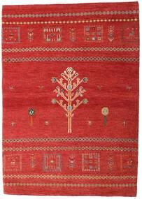 Loribaft Perzsa Szőnyeg 102X144 Modern Csomózású Rozsdaszín/Sötétpiros (Gyapjú, Perzsia/Irán)