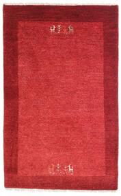 Loribaft Perzsa Szőnyeg 79X128 Modern Csomózású Piros/Rozsdaszín (Gyapjú, Perzsia/Irán)