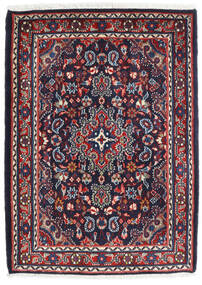 Hamadán Shahrbaf Szőnyeg 72X100 Keleti Csomózású Sötétlila/Sötétpiros (Gyapjú, Perzsia/Irán)