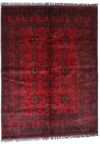 Afgán Khal Mohammadi Szőnyeg 169X228 Keleti Csomózású Sötétpiros/Piros (Gyapjú, Afganisztán)