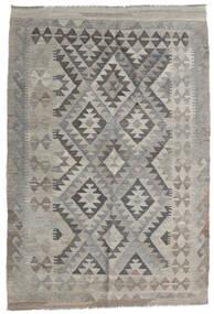 Kilim Afgán Old Style Szőnyeg 120X179 Keleti Kézi Szövésű Világosszürke/Sötétszürke (Gyapjú, Afganisztán)