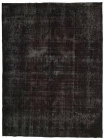 Vintage Heritage Szőnyeg 300X396 Modern Csomózású Fekete/Sötétszürke Nagy (Gyapjú, Perzsia/Irán)