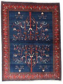 Gabbeh Kashkooli Szőnyeg 154X200 Modern Csomózású Sötétlila/Sötétkék (Gyapjú, Perzsia/Irán)