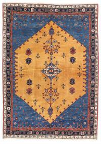 Gabbeh Kashkooli Szőnyeg 124X174 Modern Csomózású Világosbarna/Sötétkék (Gyapjú, Perzsia/Irán)