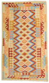 Kilim Afgán Old Style Szőnyeg 119X203 Keleti Kézi Szövésű Sötét Bézs/Narancssárga (Gyapjú, Afganisztán)
