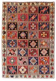 Qashqai Szőnyeg 136X197 Keleti Csomózású Sötétpiros/Sötétbarna (Gyapjú, Perzsia/Irán)