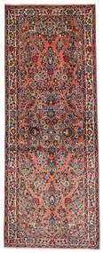 Sarough Szőnyeg 81X204 Keleti Csomózású Sötétbarna/Világosbarna (Gyapjú, Perzsia/Irán)