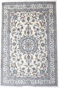 Nain Szőnyeg 200X298 Keleti Csomózású Világosszürke/Bézs/Krém (Gyapjú, Perzsia/Irán)