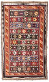Kilim Vintage Szőnyeg 162X270 Keleti Kézi Szövésű Sötétpiros/Sötétbarna (Gyapjú, Perzsia/Irán)