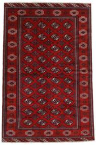 Turkaman Szőnyeg 194X293 Keleti Csomózású Sötétpiros/Rozsdaszín (Gyapjú, Perzsia/Irán)