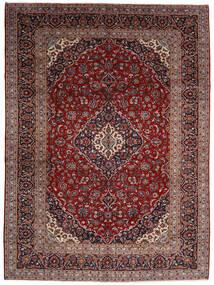 Kashan Szőnyeg 294X400 Keleti Csomózású Sötétpiros Nagy (Gyapjú, Perzsia/Irán)