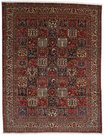 Bakhtiar Szőnyeg 298X390 Keleti Csomózású Sötétbarna/Sötétpiros Nagy (Gyapjú, Perzsia/Irán)