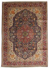 Tabriz Szőnyeg 200X280 Keleti Csomózású Sötétbarna/Világosbarna (Gyapjú, Perzsia/Irán)