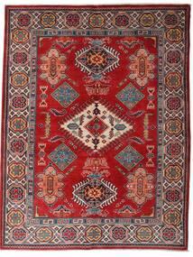 Kazak Szőnyeg 152X198 Keleti Csomózású Sötétpiros/Sötétbarna (Gyapjú, Afganisztán)