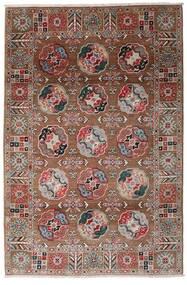 Kazak Szőnyeg 117X176 Keleti Csomózású Sötétpiros/Sötétbarna (Gyapjú, Afganisztán)