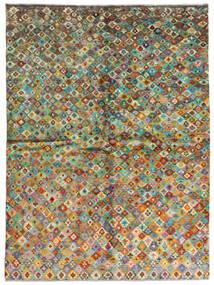 Moroccan Berber - Afghanistan Szőnyeg 171X232 Modern Csomózású Sötétszürke/Barna (Gyapjú, Afganisztán)