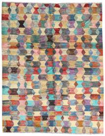 Moroccan Berber - Afghanistan Szőnyeg 186X236 Modern Csomózású Sötétbarna/Világosszürke (Gyapjú, Afganisztán)