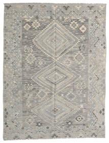Kilim Modern Szőnyeg 182X236 Modern Kézi Szövésű Világosszürke (Gyapjú, Afganisztán)
