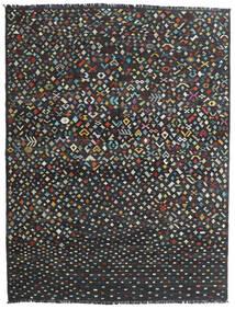Kilim Modern Szőnyeg 176X231 Modern Kézi Szövésű Sötétszürke/Fekete (Gyapjú, Afganisztán)