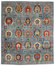 Kazak Szőnyeg 246X294 Keleti Csomózású Sötétpiros/Kék (Gyapjú, Afganisztán)