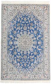 Nain 9La Szőnyeg 128X200 Keleti Csomózású Világosszürke/Bézs/Krém (Gyapjú/Selyem, Perzsia/Irán)