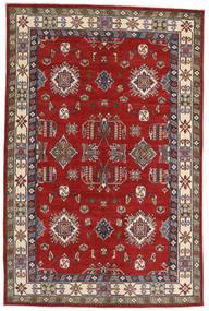 Kazak Szőnyeg 182X275 Keleti Csomózású Rozsdaszín/Sötétpiros (Gyapjú, Afganisztán)