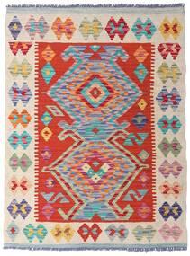 Kilim Afgán Old Style Szőnyeg 77X104 Keleti Kézi Szövésű Világosszürke/Bézs/Krém (Gyapjú, Afganisztán)