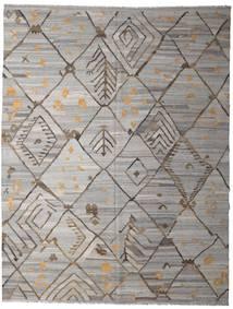Kilim Ariana Szőnyeg 258X332 Modern Kézi Szövésű Világosszürke/Sötétszürke Nagy (Gyapjú, Afganisztán)