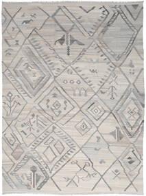 Kilim Ariana Szőnyeg 254X345 Modern Kézi Szövésű Világosszürke Nagy (Gyapjú, Afganisztán)