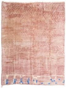 Berber Moroccan - Mid Atlas Szőnyeg 305X396 Modern Csomózású Világos Rózsaszín/Bézs Nagy (Gyapjú, Marokkó)