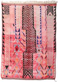 Berber Moroccan - Mid Atlas Szőnyeg 213X300 Modern Csomózású Világos Rózsaszín/Rózsaszín (Gyapjú, Marokkó)