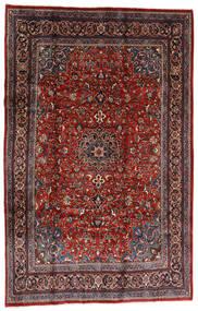 Mahal Szőnyeg 207X317 Keleti Csomózású Sötétpiros/Fekete (Gyapjú, Perzsia/Irán)