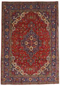 Tabriz Szőnyeg 240X333 Keleti Csomózású Sötétpiros/Sötétszürke (Gyapjú, Perzsia/Irán)