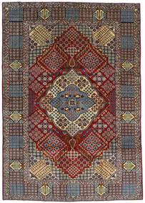 Kashan Szőnyeg 263X372 Keleti Csomózású Sötétbarna/Világosbarna Nagy (Gyapjú, Perzsia/Irán)