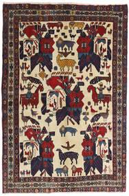 Afshar Szőnyeg 126X188 Keleti Csomózású Sötétszürke/Sötétpiros (Gyapjú, Perzsia/Irán)