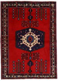 Afshar Szőnyeg 171X237 Keleti Csomózású Sötétpiros/Rozsdaszín (Gyapjú, Perzsia/Irán)
