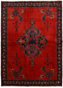Afshar Szőnyeg 166X228 Keleti Csomózású Sötétpiros/Rozsdaszín (Gyapjú, Perzsia/Irán)