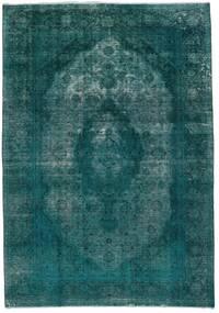Vintage Heritage Szőnyeg 235X336 Modern Csomózású Sötét Turquoise/Türkiz Kék (Gyapjú, Perzsia/Irán)